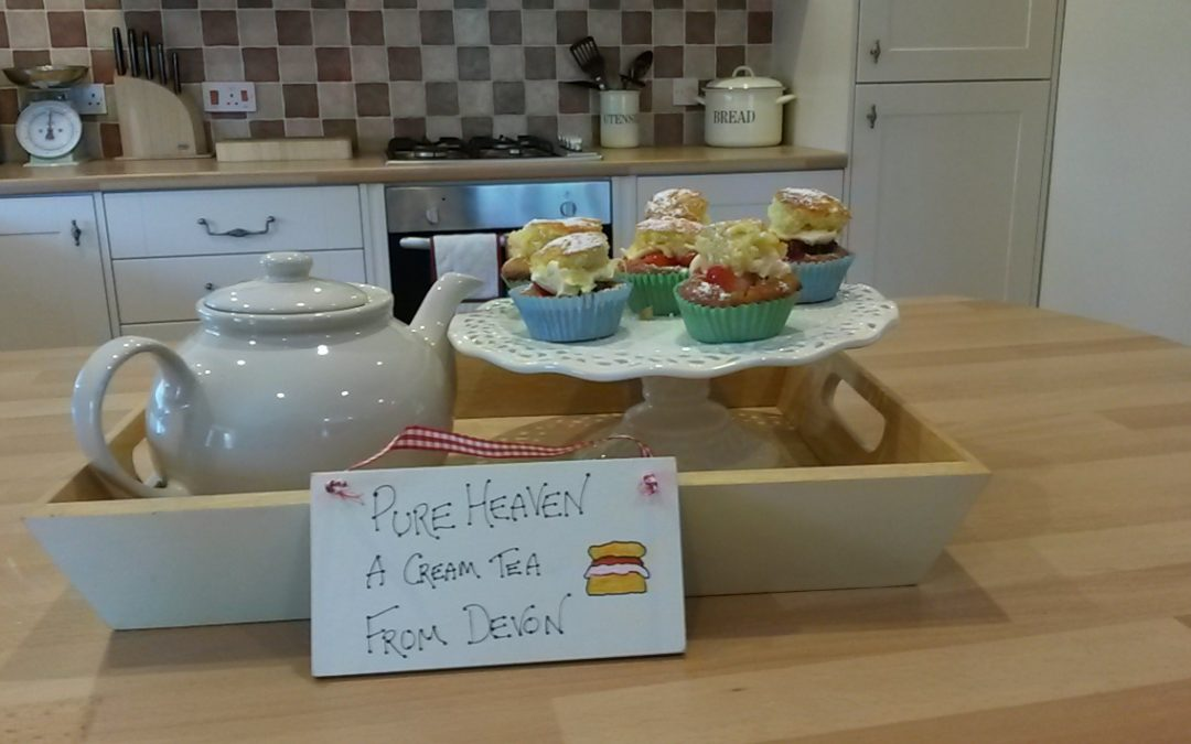 Cream Tea with a difference
